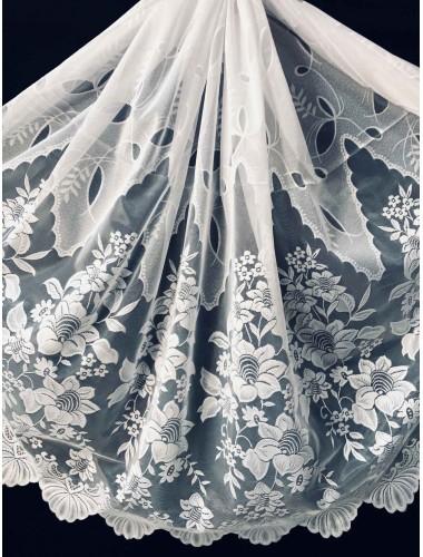 Тюль 1.5 м Мурат белый 6106 в интернет-магазине ashtori.com.ua | ☎ (067) 102-44-77