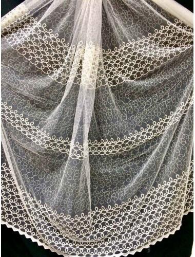 Тюль Тюль Боридо 8270 крем в интернет-магазине ashtori.com.ua | ☎ (067) 102-44-77