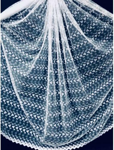Тюль Тюль Боридо 8276 белый в интернет-магазине ashtori.com.ua | ☎ (067) 102-44-77