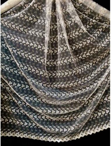 Тюль Тюль Боридо 8276 крем-золото в интернет-магазине ashtori.com.ua | ☎ (067) 102-44-77