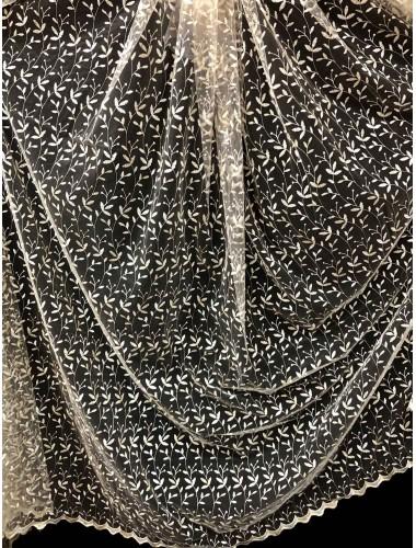 Тюль Тюль Боридо 8278 крем-золото в интернет-магазине ashtori.com.ua | ☎ (067) 102-44-77