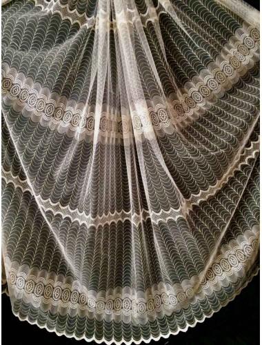 Тюль Тюль Боридо 8286 крем-золото в интернет-магазине ashtori.com.ua | ☎ (067) 102-44-77