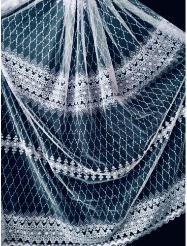 Тюль Тюль Papatia 81094 белый в интернет-магазине ashtori.com.ua | ☎ (067) 102-44-77