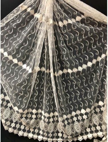Тюль Тюль Волга 10352 крем-венге корд в интернет-магазине ashtori.com.ua | ☎ (067) 102-44-77