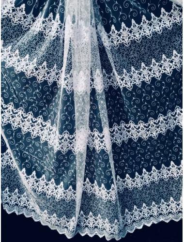 Тюль Тюль волга 5202 белый в интернет-магазине ashtori.com.ua | ☎ (067) 102-44-77