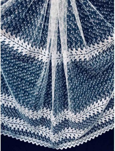 Тюль Тюль Волга 5215 (5721) белый