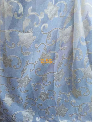 Тюль Батист цветок крем в интернет-магазине ashtori.com.ua | ☎ (067) 102-44-77