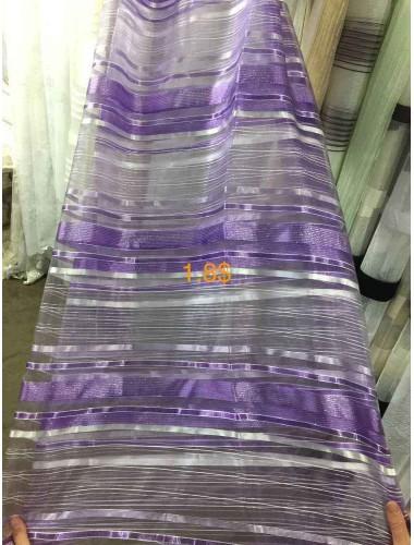Тюль Тюль полоса атлас сирень в интернет-магазине ashtori.com.ua | ☎ (067) 102-44-77