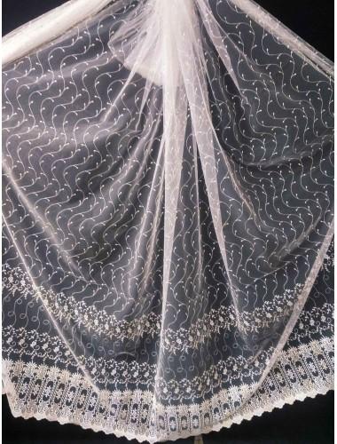 Тюль Тюль Papatia 81039 крем-золото в интернет-магазине ashtori.com.ua | ☎ (067) 102-44-77