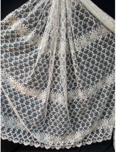 Тюль Тюль Волга12м804 крем-венге в интернет-магазине ashtori.com.ua | ☎ (067) 102-44-77